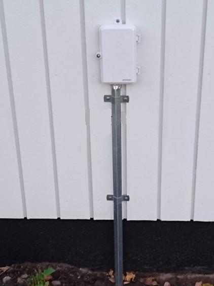 kabelskydd utomhus vägg